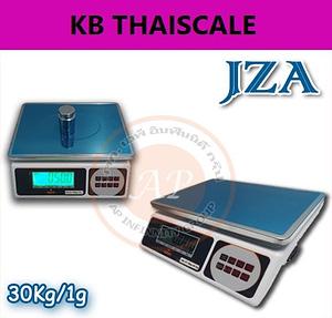 ตาชั่งดิจิตอล เครื่องชั่งตั้งโต๊ะ JZA Electronic-weighing scale 30kg ละเอียด 1g มีแบตเตอรี่ชาร์จได้ ยี่ห้อ JZA