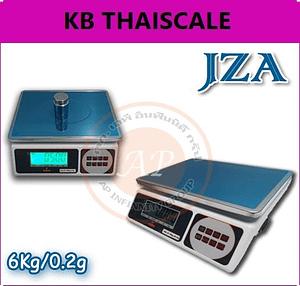 ตาชั่งดิจิตอล เครื่องชั่งดิจิตอล JZA Electronic-weighing scale 6kg ละเอียด 0.2g ยี่ห้อ JZA มีแบตเตอรี่ชาร์ทได้