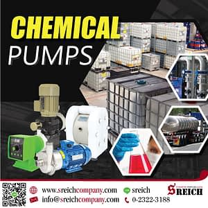 ปั๊มทนทานสารเคมี ปั๊มทนกรดสำหรับงานอุตสาหกรรม Industrial pump