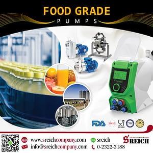 ปั๊มเติมสารถนอมอาหาร ปั๊มโดสสารละลายความแม่นยำสูง สำหรับอุตสาหกรรมอาหารและเครื่องดื่ม