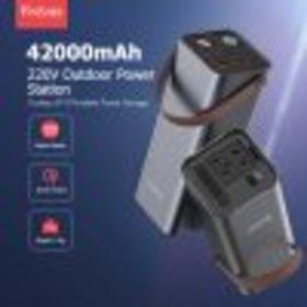 150W Power Bank ความจุ 26400 mAh แบบพกพา แหล่งจ่ายไฟ DC/AC แบตเตอรี่สำรอง