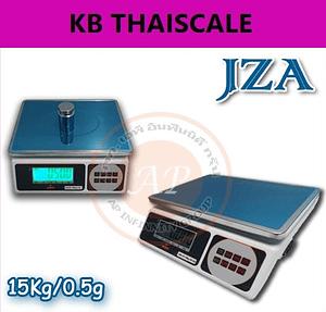 ตาชั่งดิจิตอล เครื่องชั่งตั้งโต๊ะ 15kg JZA Electronic-weighing scaleละเอียด0.5g ยี่ห้อ JZA มีแบตเตอรี่ชาร์จได้