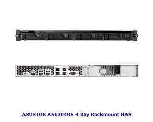 ASUSTOR AS6204RS NAS