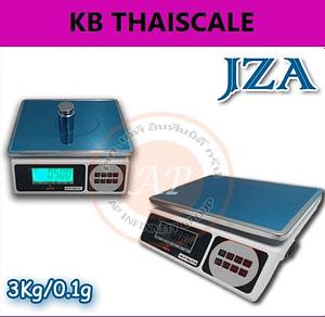 ตาชั่งดิจิตอล เครื่องชั่งตั้งโต๊ะ JZA Electronic-weighing scale 3000g ละเอียด 0.1g มีแบตเตอรี่ชาร์ทได้