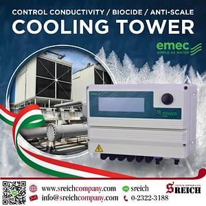 EMEC เครื่องควบคุณภาพน้ำในระบบคูลลิ่งทาวเวอร์